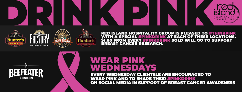 October is time to #thinkpink